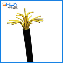 Signal fire resistant control cable